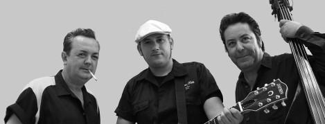 Antonio Cassinello Rock&Roll Trío_b&n