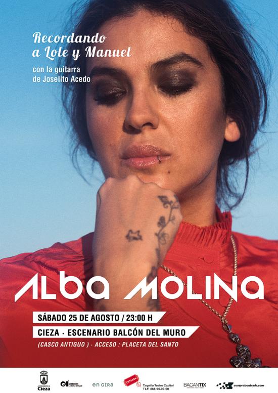 Alba Molina en Cieza