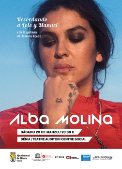Alba Molina en concierto a Dénia