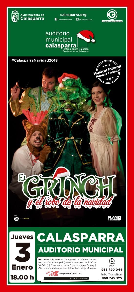 El Grinch y el robo de la Navidad en Calasparra