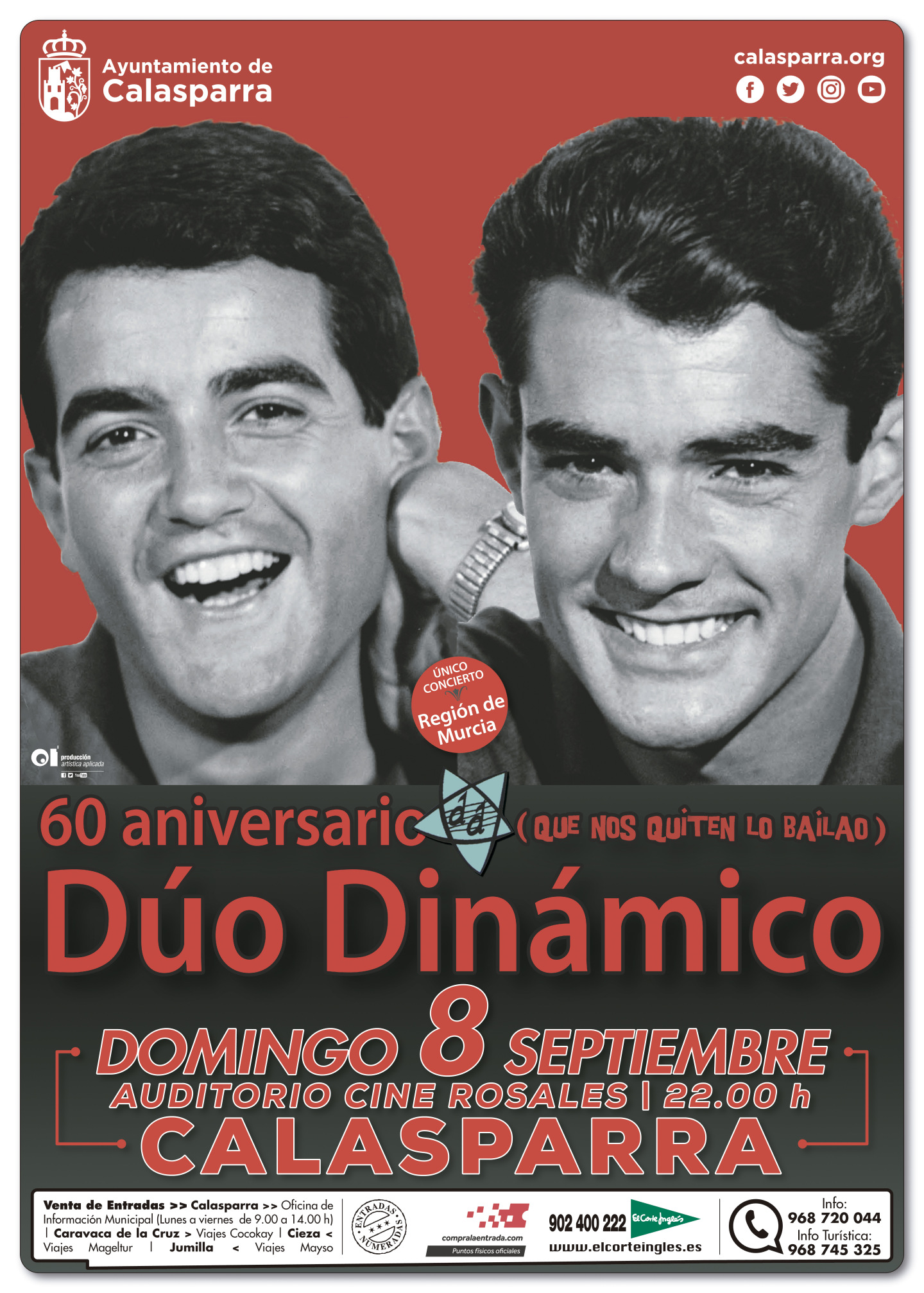EL DÚO DINÁMICO | CALASPARRA | 08/09
