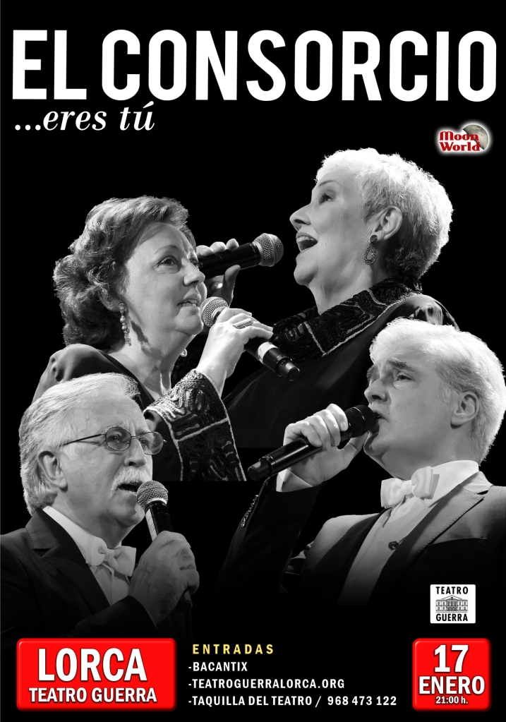 """""""El Consorcio"""" · Gira """"...eres tú"""" · Lorca, Teatro Guerra · Viernes 17 de enero de 2020"""