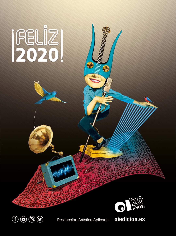¡Feliz 2020 con OÍ Edición!