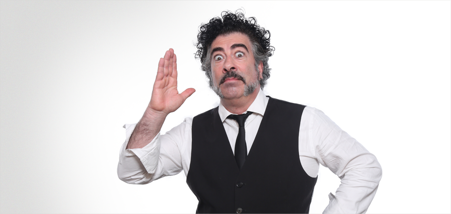 Agustín Jiménez en Blanca Teatro Victoria